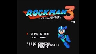 Rockman 3: The Last of Mushroom Kingdom?! (NES/FC) - Longplay