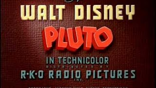 Cartoon animation  Pluto Junior