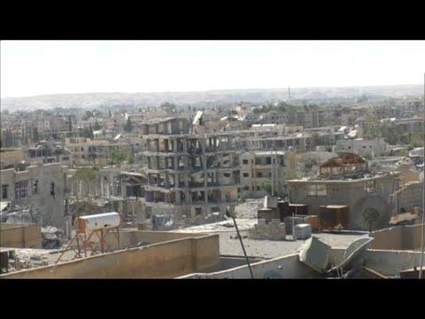أخبار عربية - الرقة محررة.. الدولة المزعومة تفقد عمودها الفقري وحلم الخلافة