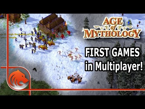 My First Multiplayer Games In Age Of Mythology!