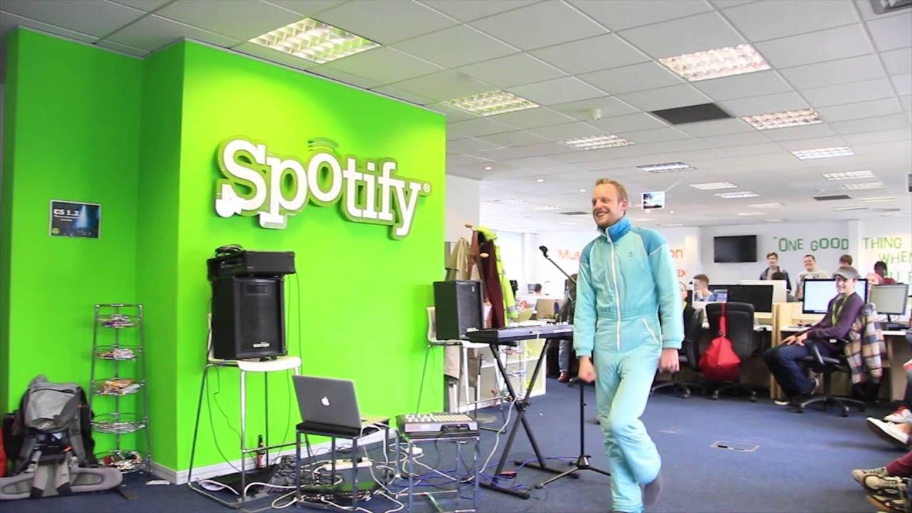 Walking Across The Room @ Spotify - YouTube