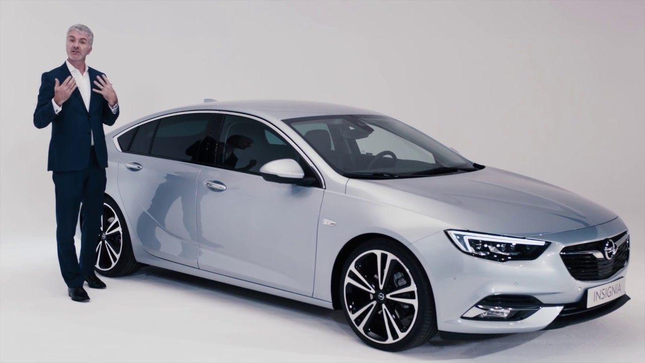 The Opel Insignia: Designing the Grand Sport - YouTube