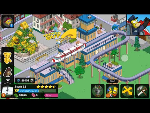 The Simpsons™: Tapped Out Gameplay (Level 53)