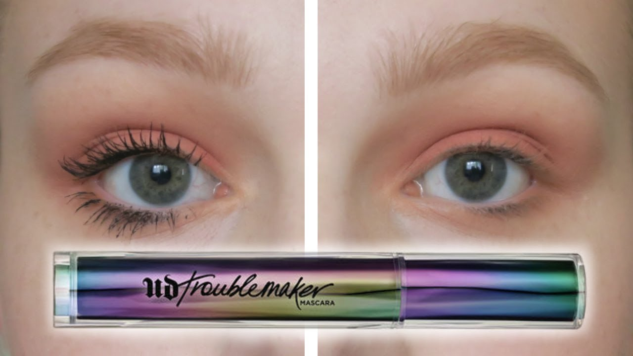 c3123300a90 NEW Urban Decay Troublemaker Mascara First Impression - YouTube