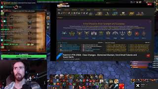 Asmongold Reacts To Class Changes And Taunt Nerfs In New Patch 8.1