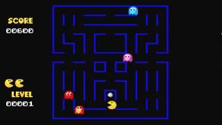 ATARI ST Super Pac Man PACMAN 1997 10 Eddie Cat PD Game st zip