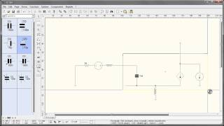 drawing circuit schematics with sPlan 7.0 (vector)