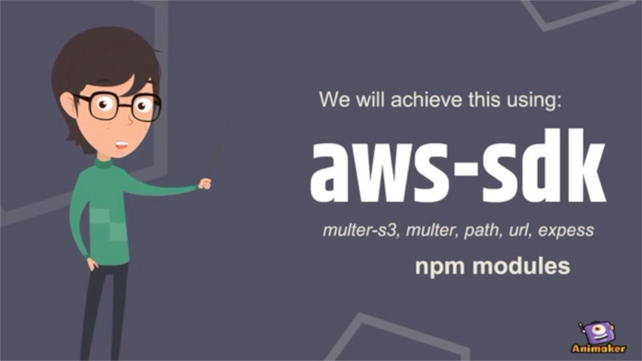 Upload Files Images on Amazon Web Services | AWS S3 | React | Node Js |  Create bucket