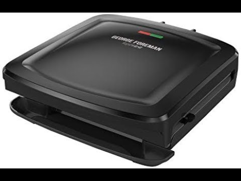 product reviews #102 George Foreman 4-Serving Removable Plate Grill and Panini Press