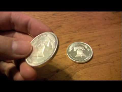 Silver Bullion Bug - A Mark 1 ounce Silver Liberty Round coin