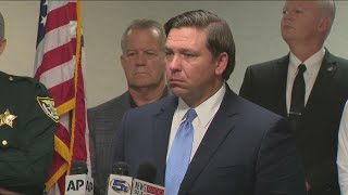 Gov. Ron DeSantis press conference on NAS Pensacola shooting 12/8
