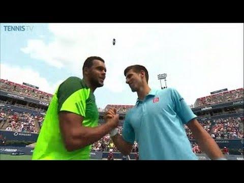 (Highlights HD) Novak Djokovic Vs. Jo-Wilfried Tsonga - Wimbledon 2014 R4