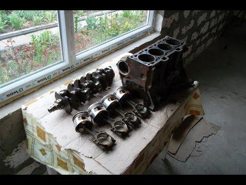 Почему Приора ШПГ это говно!!! Разобрал низ двигателя для ВАЗ 2109 PRO DRAG