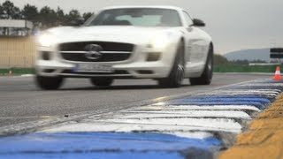 Mercedes SLS GT AMG: Hockenheim Track Test - CHRIS HARRIS ON CARS