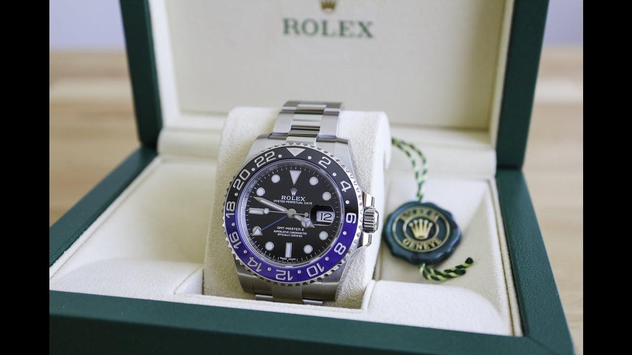 Rolex Gmt Master Ii Blnr Review