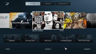 Как включить режим Big Picture в Steam или как превратить ПК в приставку
