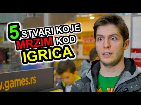 5 Stvari Koje Mrzim Kod - VIDEO IGRICA