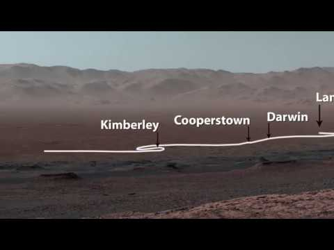 Trace Curiosity's Incredible Mars Journey So Far in New Panoramic View