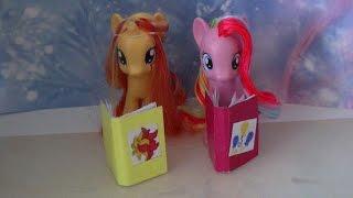как сделать дневник для пони