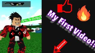 My First Video!! Roblox Gameplay