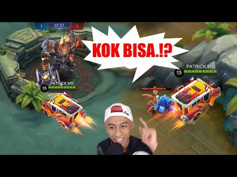 BUG JOHNSON NABRAK TAPI MASIH JADI MOBIL!!