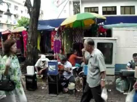 Malaysian psychedelic street band! Kota Kinabalu, Borneo