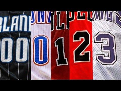 NBA Best Dunk By Jersey Number (00-50)