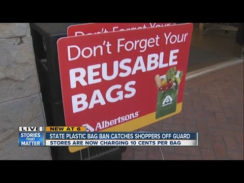 Plastic bag ban causes confusion for shoppers