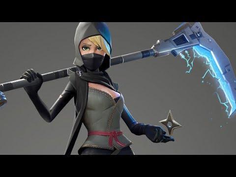 dragon scorch fortnite ninja gameplay - sarah fortnite battle royale