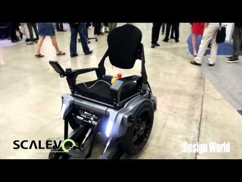 Scalevo, the stair-climbing wheelchair