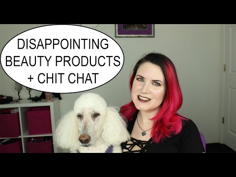 Disappointing Beauty Products 2017 - Drugstore, Department store, High End + TV Legion Chit Chat