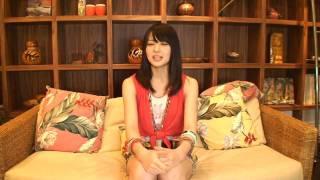 スズキュー終了後の矢島舞美の一人しゃべりです。