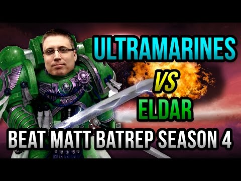Ultramarines vs Eldar Flyer Battle - Beat Matt Batrep Season 4 Episode 1