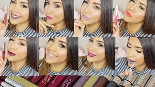 NUEVOS! Color Pop Ultra Satin Lips Review Swatches / Labiales Satinados - Ydelays