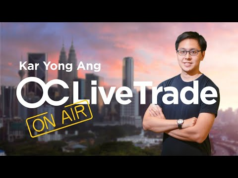 [ENGLISH] Live Trading Session 24.08 with Kar Yong   Forex Trading in English