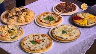 عجينة البيتزا و الكرواسون السريع | سالي فؤاد