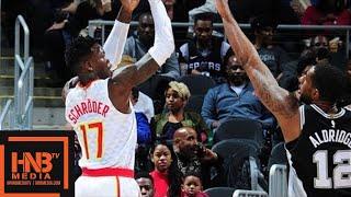 Video San Antonio Spurs vs Atlanta Hawks 1st Half Highlights / Jan 15 / 2017-18 NBA Season download MP3, 3GP, MP4, WEBM, AVI, FLV Januari 2018