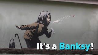 It's a Banksy