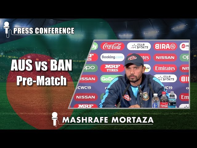 Beating Australia very difficult but not impossible - Mashrafe Mortaza