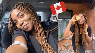 HOSPITAL VISITS, NAIJA BANTS, GETTING BRACES & MORE | A DAY IN MY LIFE AS A NEW IMMIGRANT IN CANADA