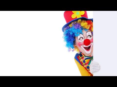 Футаж ✯ Веселье и клоуны ✯ Для #монтажа видео✯HaPpy #clowns