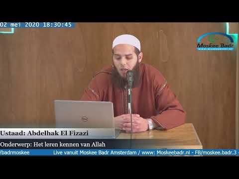 Ustaad Abdelhak El Fizazi: Het goede gedrag