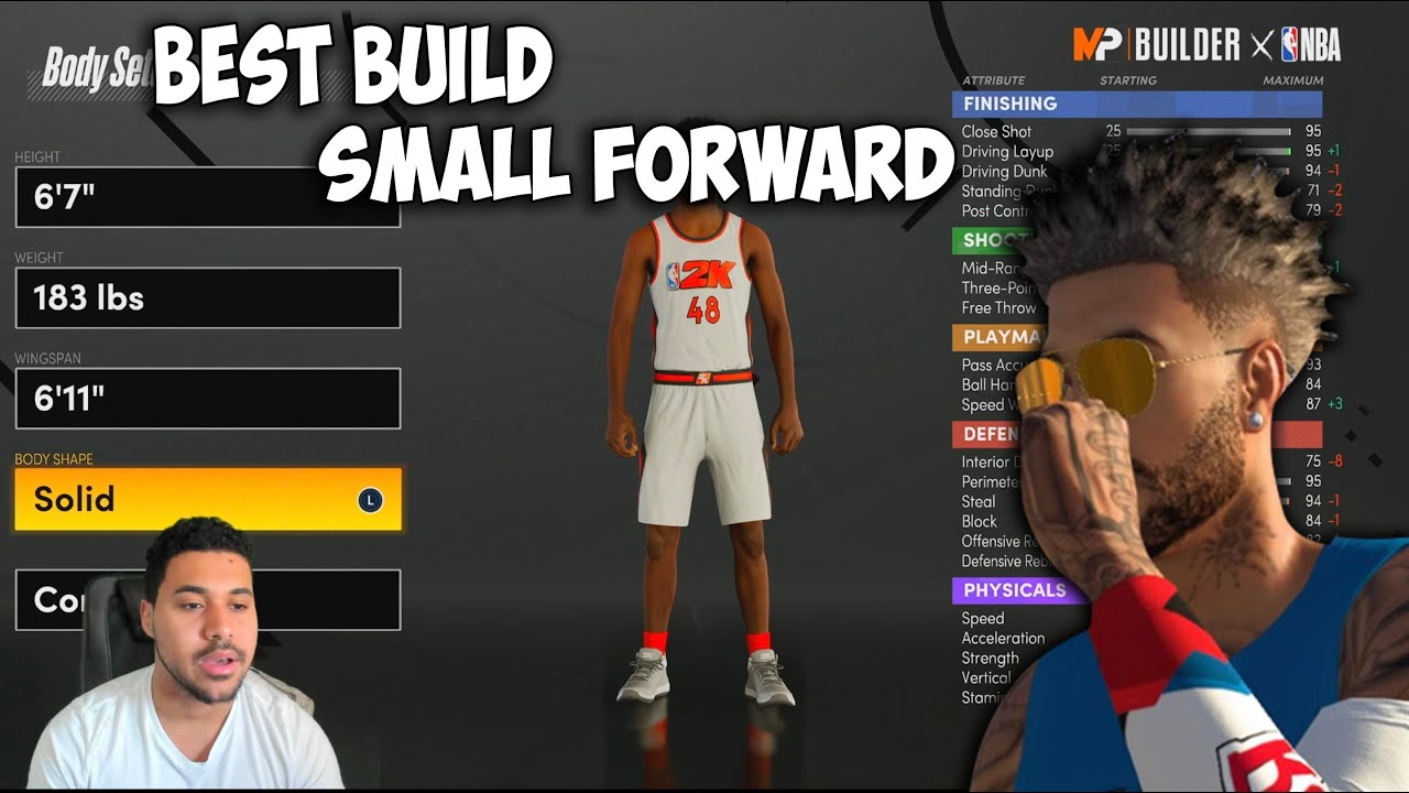 Best Small Forward Builds In Next Gen Nba 2k21 Youtube