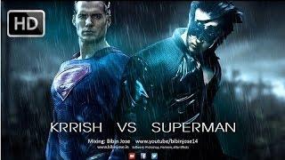 Krrish 4  VS Superman Fight- How  Superman Died Krrish Wins (RRT)