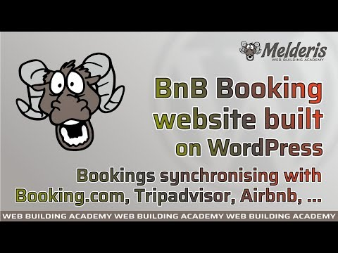 B&B Booking Website On WordPress Working With Booking.com, Tripadvisor, Airbnb, Expedia, Homeaway