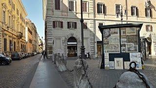 РИМ. Алтарь Мира, фонтан Бочка и Палаццо Боргезе