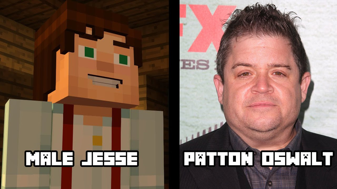 Characters And Voice Actors Minecraft Story Mode Youtube