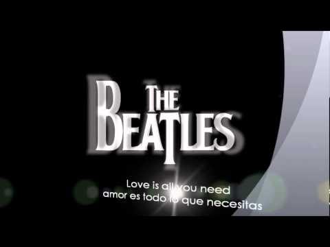 The Beatles-All You Need Is Love- (subtitulada español-ingles)