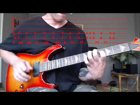 Orion - Metallica (Main Riff) Guitar Lesson