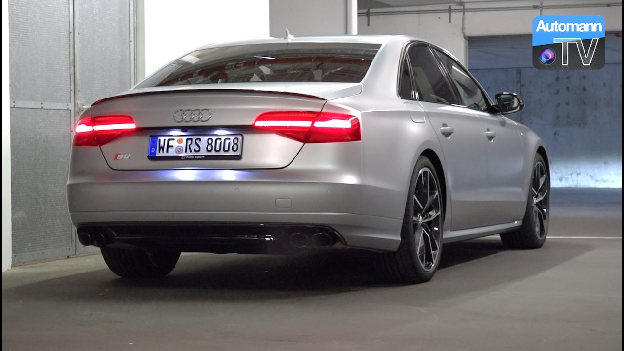 2017 Audi S8 Plus 605hp Pure Sound 60fps Youtube